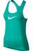 Nike Pro Cool Løbe T-shirt Damer grøn/turkis